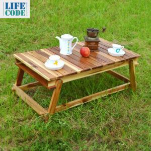 【LIFECODE】相思木野餐桌和室桌-附背袋 11120060